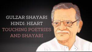 gulzar shayari on zindagi