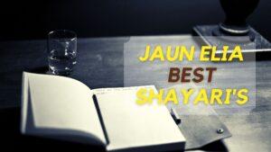 Jaun Elia's Best shayari in Hindi