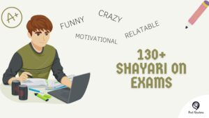 SHAYARI ON EXAMS